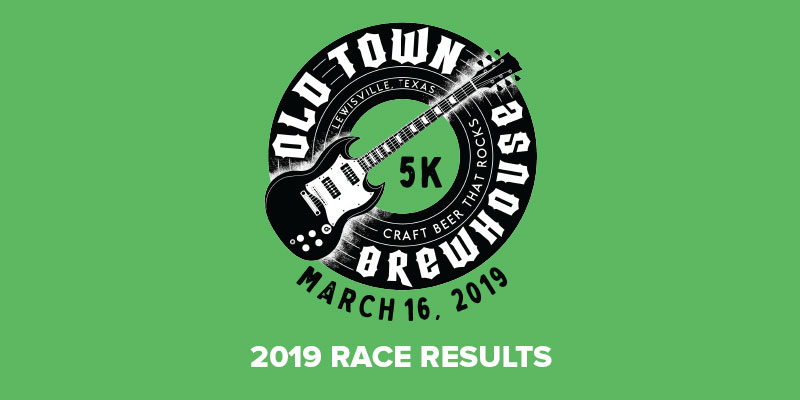 2019 Old Town Brewhouse St  Patrick's 5K Walk/Run Results